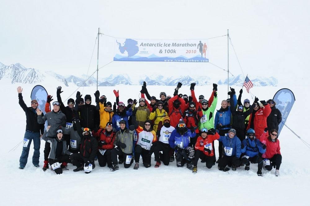 Antarctique Marathon et 100kms 2010