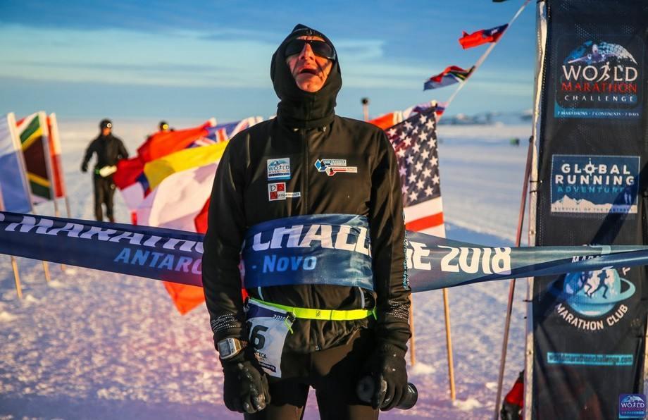 World Marathon Challenge – ANTARTIC Novo